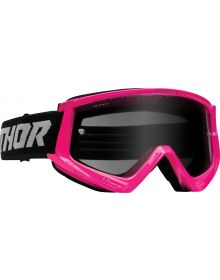 Thor Combat Racer Sand Goggles Pink/Gray