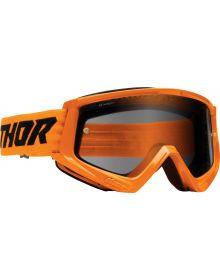 Thor Combat Racer Sand Goggles Orange/Black