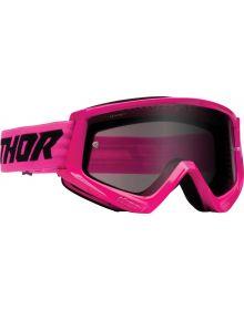 Thor Combat Racer Sand Goggles Pink/Black