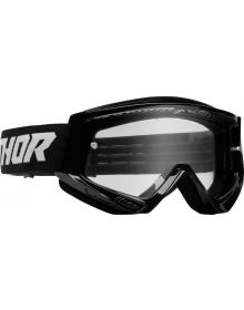 Thor Combat Racer Youth Goggles Black/White