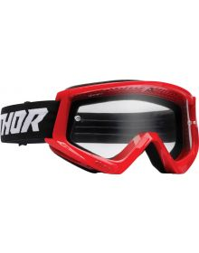 Thor Combat Racer Youth Goggles Red/Black