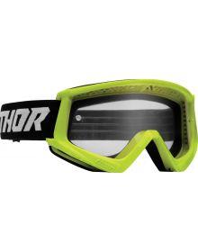 Thor Combat Racer Youth Goggles Flo Acid/Black