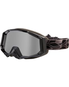 Castle X Trace Snow Goggles Matte Black/Black