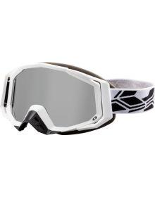 Castle X Trace Snowmobile Goggle Matte White