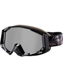 Castle X Trace Snowmobile Goggle Black
