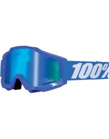 100% Accuri Goggles Reflex Blue/Blue Mirror Lens
