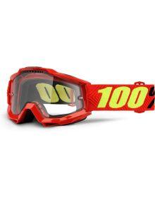 100% Accuri  OTG Over The Glasses Goggles Saarinen