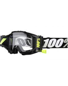 100% Accuri Forcast WFS Goggles Tornado W/Clear Lens