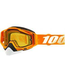 100% Racecraft Snow Goggles Crush2 w/Yellow Lens