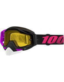 100% Racecraft Snow Goggles Haribo2 w/Yellow Lens