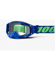 100% Racecraft Goggles Dreamflow w/Clear Lens