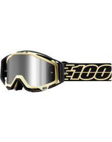 100% Racecraft Plus Goggles Jiva w/Silver Mirror Lens