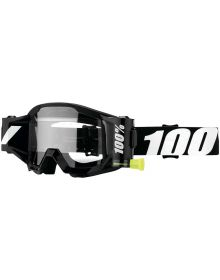 100% Strata Forcast WFS Goggles Outlaw W/Clear Lens