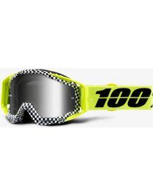 100% Racecraft Goggles Andrea w/Silver Mirror Lens