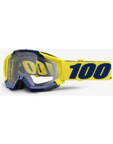 100% Accuri Goggles Supply W/Clear Lens