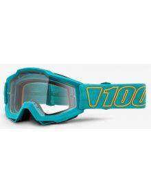 100% Accuri Goggles Galak W/Clear Lens