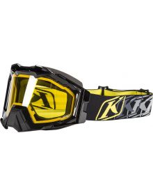 Klim 2019 Viper Snow Goggle Black Yellow Tint