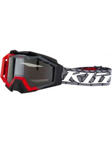 Klim 2019 Viper Snow Goggle Red Smoke Polarized