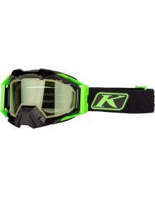 Klim 2021 Viper Pro Snow Goggle Elite Electrik Gecko W/Green