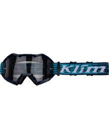 Klim Viper MX Goggle Razor Navy Blue W/Clear Lens