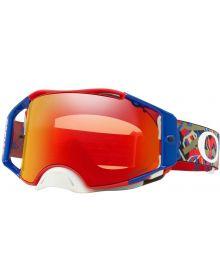 Oakley Airbrake Goggles Camo Vine Jungle Red/White/blue w/ Prizm Torch Lens