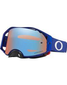 Oakley Airbrake MX Goggles Moto Blue/Prizm Sapphire Lens