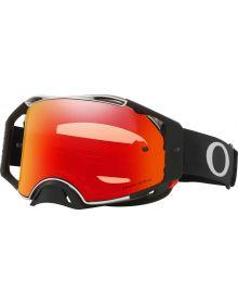 Oakley Airbrake MX Goggles Tuff Blocks Black Gunmetal/Prizm Torch Lens