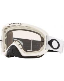 Oakley O Frame 2.0 Pro MX Goggle Matte White/Clear