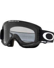 Oakley O Frame 2.0 Pro MX Goggle Jet Black H2O w/Grey Lens