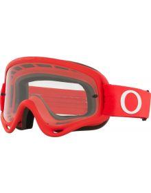 Oakley O Frame MX Goggle Moto Red /Clear