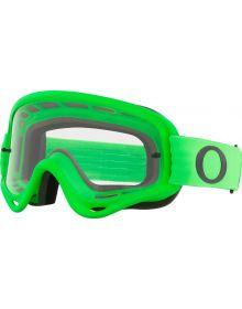 Oakley O Frame MX Goggle Moto Green/Clear
