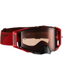 Leatt  Velocity 6.5 Ruby/Red Goggles with Rose Ultra Contrast Lens