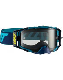 Leatt  Velocity 6.5 Ink/Blue Goggles with Light Grey Lens