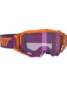 Leatt Velocity 5.5 Iriz Goggle Neon Orange/Purple
