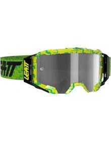 Leatt Velocity 5.5 Goggle Neon Lime/Light Grey
