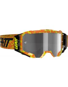 Leatt Velocity 5.5 Goggle Neon Orange/Light Grey