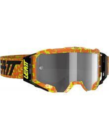Leatt Velocity 5.5 Goggle Neon Orange/Light Grey