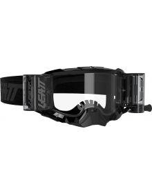 Leatt Velocity 5.5 Roll Off Lens Black/Clear