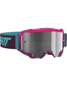 Leatt Velocity 4.5 Goggle Neon Pink/Clear