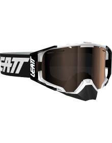 Leatt Velocity 6.5 SNX Iriz Snowmobile Goggle Black/White Platinum
