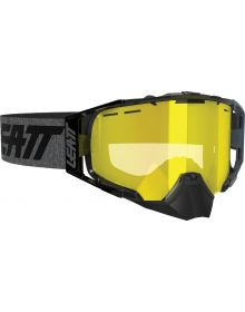 Leatt Velocity 6.5 SNX Snowmobile Goggle Black/Grey Yellow