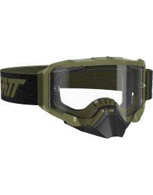 Leatt Velocity 4.5 SNX Snowmobile Goggle Forest/Clear
