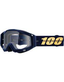 100% Racecraft Goggles Bakken w/Clear Lens