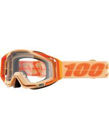 100% Racecraft Goggles Sahara w/Clear Lens