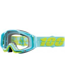 100% Racecraft Goggles Pinacles w/Clear Lens