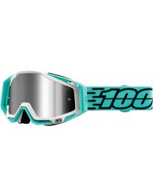 100% Racecraft Plus Goggles Fasto w/Silver Mirror