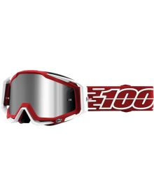 100% Racecraft Plus Goggles Gustavia w/Silver Mirror