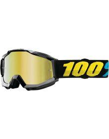 100% Accuri Goggles Virgo W/Gold Lens