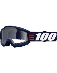 100% Accuri Goggles Atr Deco W/Clear Lens