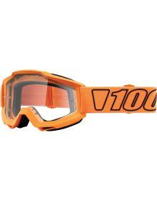 100% Accuri Goggles Luminari W/Clear Lens